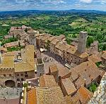 slides/IMG_3666PH.jpg Italy, Tuscany, San Gimignano, village, medieval, tower, architecture, history, sky, cloud, panorama, view, hills, landscape IVC13 - San Gimignano - Tuscany - Italy